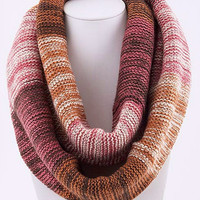 Shades of Pink Infinity Scarf