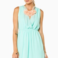 ShopSosie Style : Ceire Dress in Mint