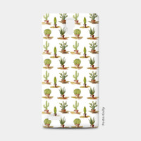 Trendy Cactus Green Pattern Redmi Note Cases | Artist : Seema Hooda