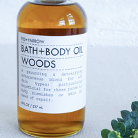 Fig and Yarrow Bath and Body Oil Woods