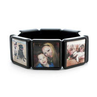 Custom Photo Bracelet for Mom, Personalized Jewelry,Mothers Day Gift for Grandma or Grandmother,Bracelet with Picture,Family Photo Ideas