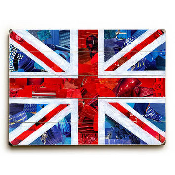 Union Jack by Artpop Art Wood Sign