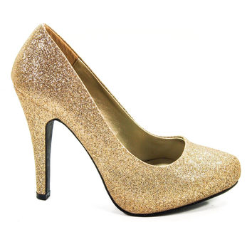 Terra By Delicious, Round Toe Platform Pump High Heel Stiletto Women Office Party Shoes