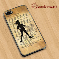 Peter Pan Mary Poppins Wizard Oz Vintage Quote custom case for all phone case