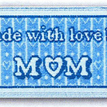 Sewing Labels Quilting Crafts Made with love by Mom Pre Made