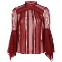Alice + Olivia Ivy Lace Top | Harrods.com