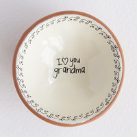 I Love You Grandma Tiny Trinket Dish