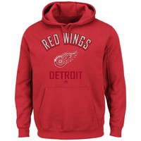 Majestic Detroit Red Wings Stack the Pads Fleece Hoodie