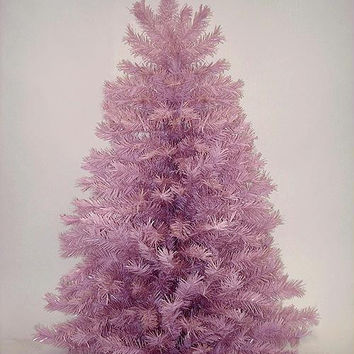 Artificial Christmas Tree - 4 Ft. - 212 Pink Mauve Tips