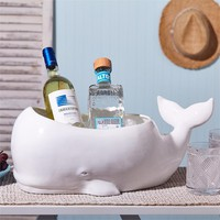 Beluga Whale Planter - Set of 2