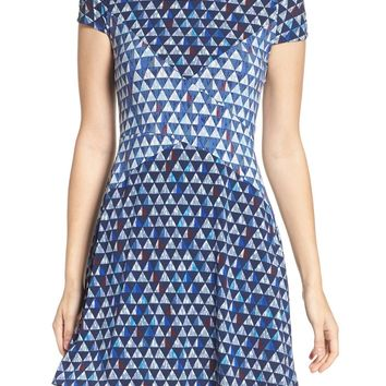 BCBGMAXAZRIA Fit & Flare Dress | Nordstrom