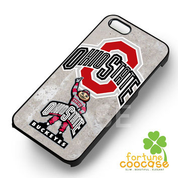 Ohio State Buckeyes-1nn for iPhone 6S case, iPhone 5s case, iPhone 6 case, iPhone 4S, Samsung S6 Edge