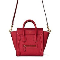 Lucy celine medium luggage phanton bag in baby grained calfskin