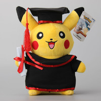Pokemon Pikachu Graduation Plush Toy 27cm/11Inch