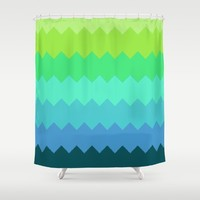 Under the Sea Shower Curtain by Laura Santeler