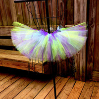 Audrey Tutu - Neon Tutu - Purple, Blue and Apple Green - Available in Infant, Toddlers, Girls, Teenager and Adult Sizes
