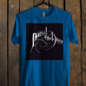 Panic At the Disco Blue Mens T Shirt **