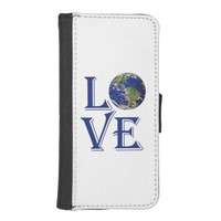 Love the world our planet iPhone 5 wallets