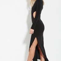 High-Slit Maxi Dress | Forever 21 - 2000182422