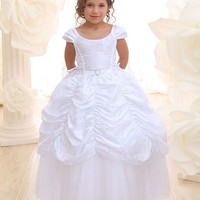 Princess inspired Taffeta Communion Dress