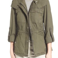 Levi's® Parachute Cotton Hooded Utility Jacket | Nordstrom