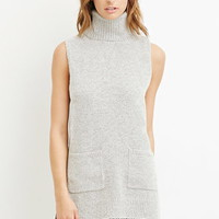Longline Turtleneck Vest