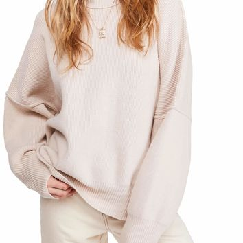 Free People - Easy Street Tunic in Pearl/Sand