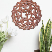 Radiant Om Wall Hanging