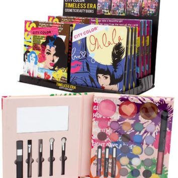 City Color Cosmetics In Timeless Era Book Case Pack 72