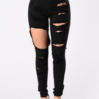 Haute Mess Jeans - Black