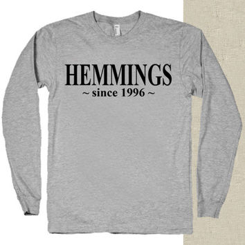 5 Second Of Summer Luke Hemmings since 1996 t-shirt long sleeves happy feed