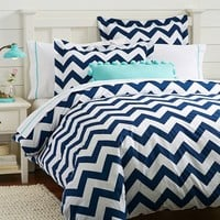 Chevron Duvet Cover + Sham