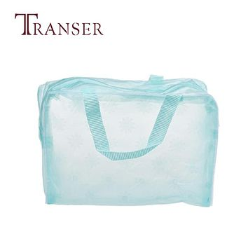 TRANSER  Portable Makeup Cosmetic Toiletry Travel Wash Toothbrush Pouch Organizer Bag Handbag High Quality Famous Designer Sep29