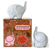Jonathan Adler Elephant Salt & Pepper Shakers