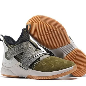 LeBron Soldier 12 XII EP Sneaker - Army Green