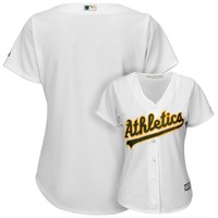 Majestic Oakland Athletics Cool Base Replica Jersey - Women's, Size: