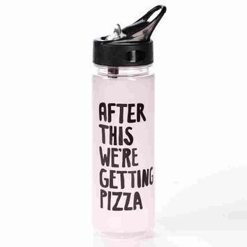 Pizza After Workout Water Bottle
