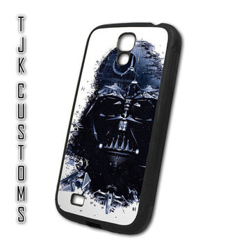 Samsung Galaxy S4 Case Galaxy s4 Case Galaxy s4 Darth Vader Case Rubber w/ Metal Back