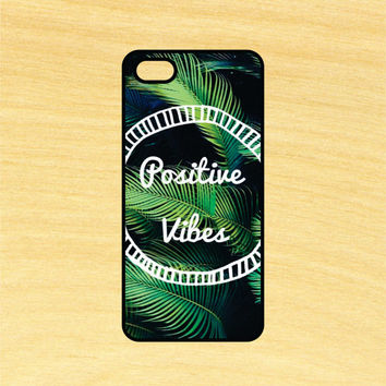 Positive Vibes Art iPhone 4/4S 5/5C 6/6+ and Samsung Galaxy S3/S4/S5 Phone Case
