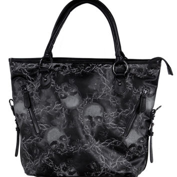 Urban Decay Tote Bag Women's Black By Iron Fist