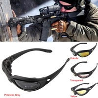 Polarized Army Goggles 4 Lens Outdoor UV Hunting Fishing Military Sunglasses Riding eyewear WarGame Glasses 12-0006P