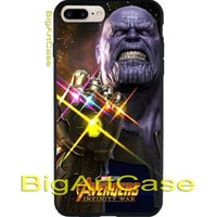 Thanos poster Marvel avengers infinity war CASE iPhone 6s/6s+7/7+8/8+,X, Samsung