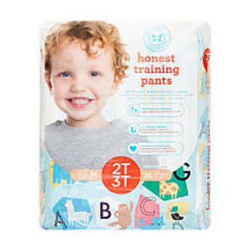 The Honest Company Animal ABCs Training Pants for 2T/3T - 26 Count