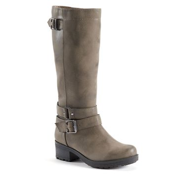 SONOMA life + style Women's Tall Lug Knee-High Boots