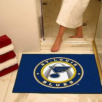 Saint Louis Blues Bath Shower Mat Area Rug