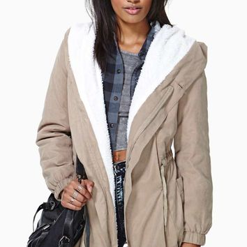 Gatlinburg Shearling Anorak