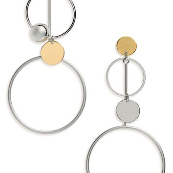 Loren Olivia Circle Drop Earrings (Nordstrom Exclusive) | Nordstrom
