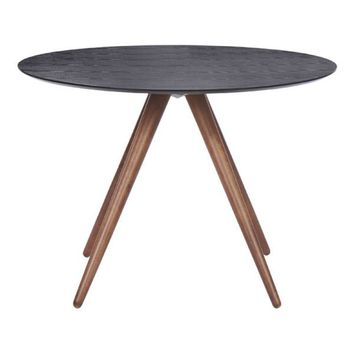 Zuo Grapeland Heights Dining Table with Walnut Finish