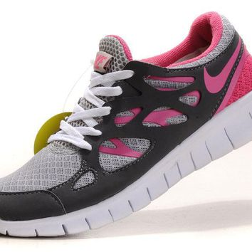 """""""Nike Free Run +2.0"""" Women Sport Casual Multicolor Barefoot Sneakers Running Shoes"""