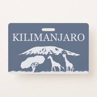 Kilimanjaro (Blue) Badge